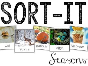 Sort-It! Seasons