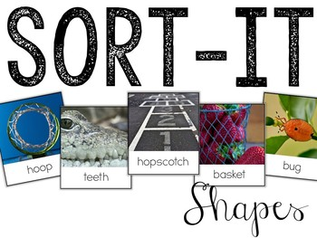 Sort-It! Shapes