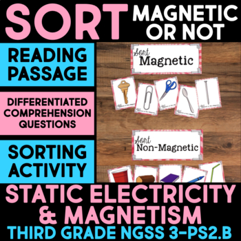 Sort Magnetic or Non-Magnetic - Science Station