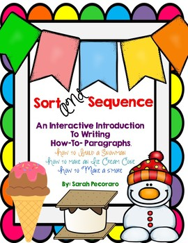 Sort & Sequence How To Paragraphs