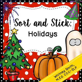 Sort and Stick: Holidays
