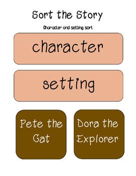 Sort the Story (Character/ Setting Sort)