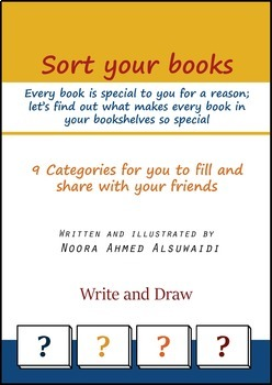 Sort your books - Activity for students to help them sort