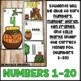 Numbers 1-20 Math Center: Number Words, Ten Frames, and Ta