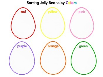 Sorting Jelly Beans by Colors