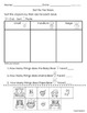Sorting Math Activities Worksheets (8 pgs Eng & Spanish) C