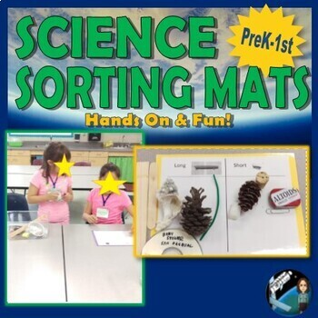 Sorting Mats {Aligns with K-2 NGSS Science Practice: Analy