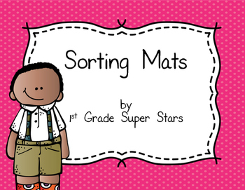 Sorting Mats (Color, Size, Shape, and Thickness)