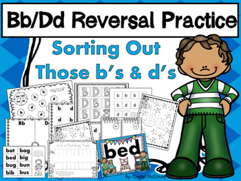 Alphabet! Sorting Out Those b's and d's. (9 Activities for
