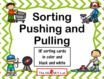Sorting Pushing and Pulling