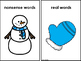 Sorting Real And Nonsense Words -Old Lady Winter