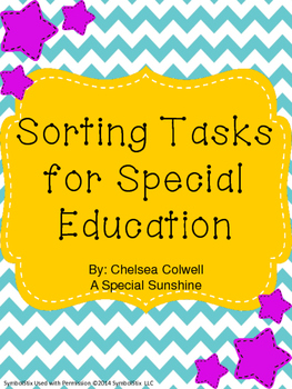 Sorting Tasks for Special Education