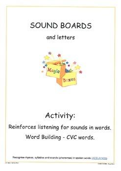 Sound Boards and Letters: CVC CCVC CVCC