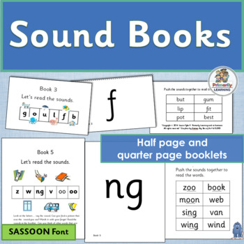 Phonics Sound Books ~ great resource for Jolly Phonics | S