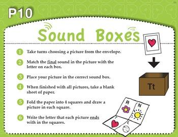 Sound Boxes (Common Core RF 1.2C)
