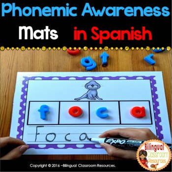 Phonemic Awareness Mats In Spanish