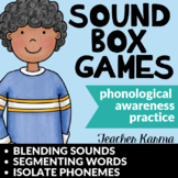 Sound Boxes ~ Phonemic Awareness ~ Blend & Segment Sounds