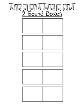 Sound Boxes and Analogy Chart