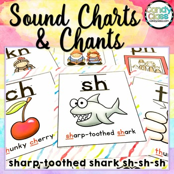 Sound Charts & Chants for Phonemic Awareness & Phonics Activities
