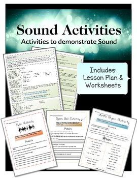 Sound Lesson Plan & Activities Bundle
