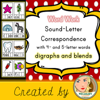 Sound-Letter Correspondence - Digraphs and Blends - Word W