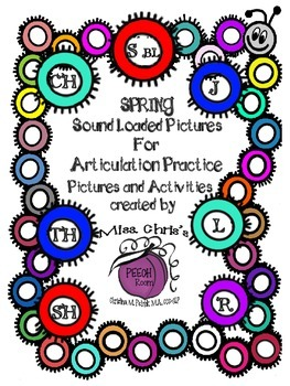 Sound Loaded Pictures for Articulation Practice {sh ch th
