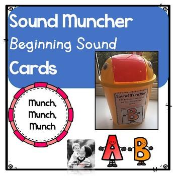Sound Muncher Beginning Sound Cards