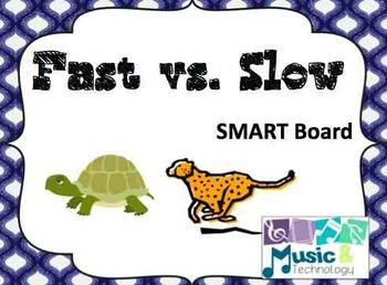 Sound Opposites- Fast vs. Slow SMART Board Lesson