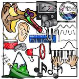 Sound Science Clip Art Bundle