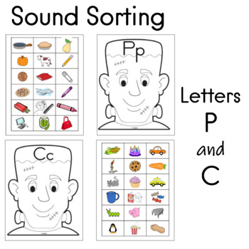 Sound Sorting for the Letters Pp and Cc