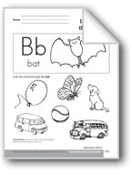 Sound-Symbol Association: Initial b