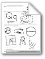 Sound-Symbol Association: Initial q
