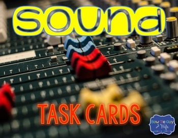 Sound Task Cards {Scoot}