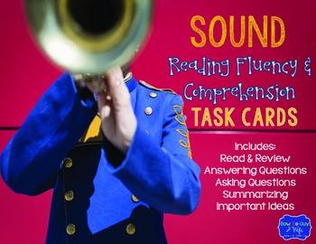 Sound Task Cards for Fluency and Comprehension