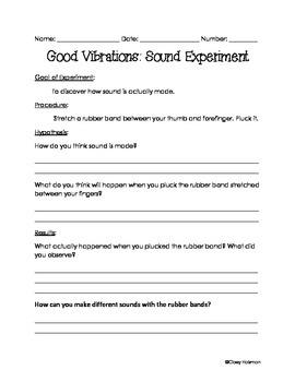 Sound Vibrations Experiment
