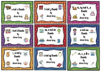 Sound Waves Phonics Spelling - Set 2 - Read and Write the Room