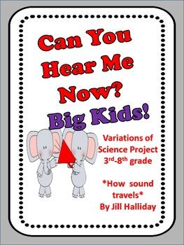 Science Fair Project - Sound Waves - Big Kid version!