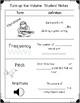 Sound Waves Vocabulary, Sort, Reading Passage