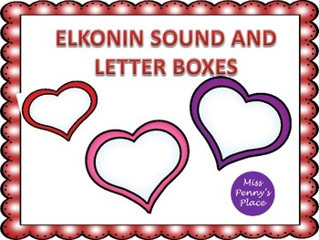 Sound and Letter Boxes - Hearts