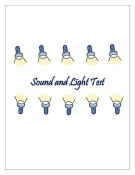 Sound and Light Test