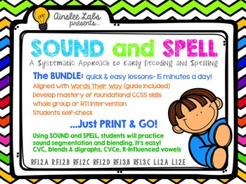 Sound + Spell: A Systematic Approach to Early Decoding and