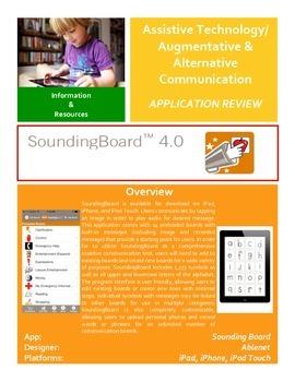 SoundingBoard 4.0 Application Review