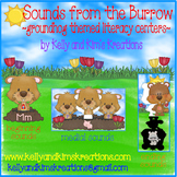 Sounds from the Burrow! {groundhog-themed literacy centers}