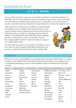 Sounds in Play: Generalising Speech Sounds /s/ and /s_/ blends
