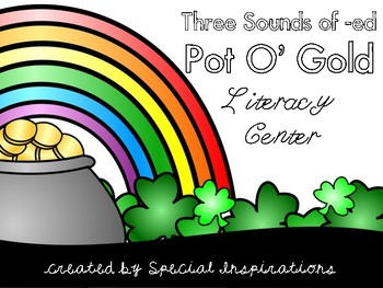 Sounds of -ED Pot O' Gold Literacy Center (Orton-Gillingham)