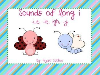 Sounds of Long i (-i_e, -ie, -igh, -y)