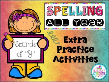 Sounds of Y - Extra Practice Activities
