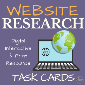 Website Evaluation Task Cards