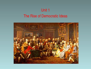 Sources of Democracy- The Enlightenment