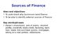 Sources of Finance - Business Studies - PPT, Worksheet & Activity
